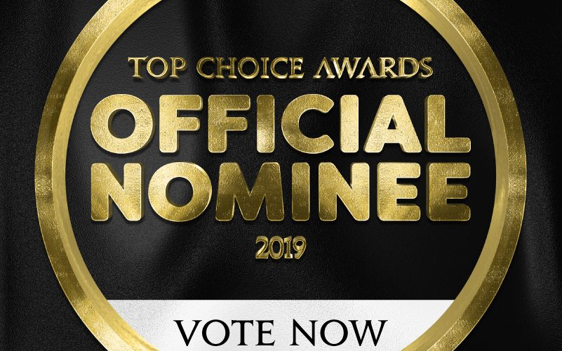 New Canadian Has Been Nominated In The Top Choice Awards!